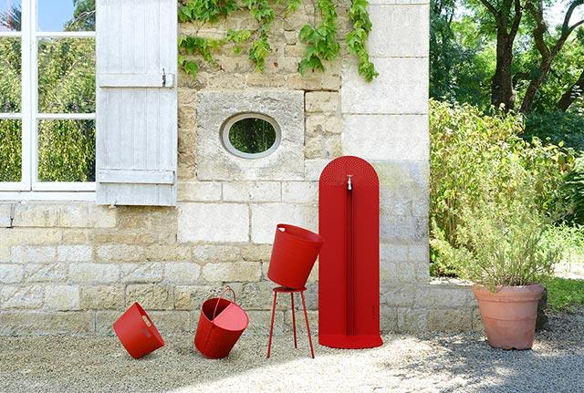 Laorus : Fontaines de jardins, nichoirs à oiseaux, cadrans solaires et mobilier de jardin design